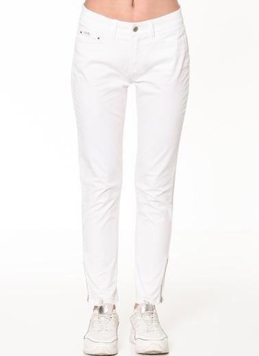 Tommy Hilfiger Pantolon | Slim Beyaz